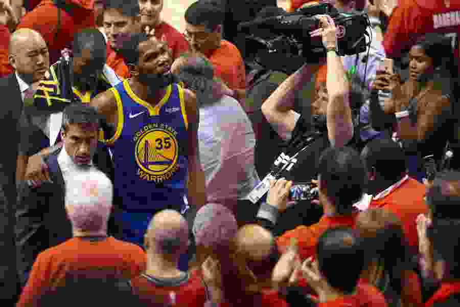 Warriors forward Kevin Durant undergoes surgery for ruptured Achilles