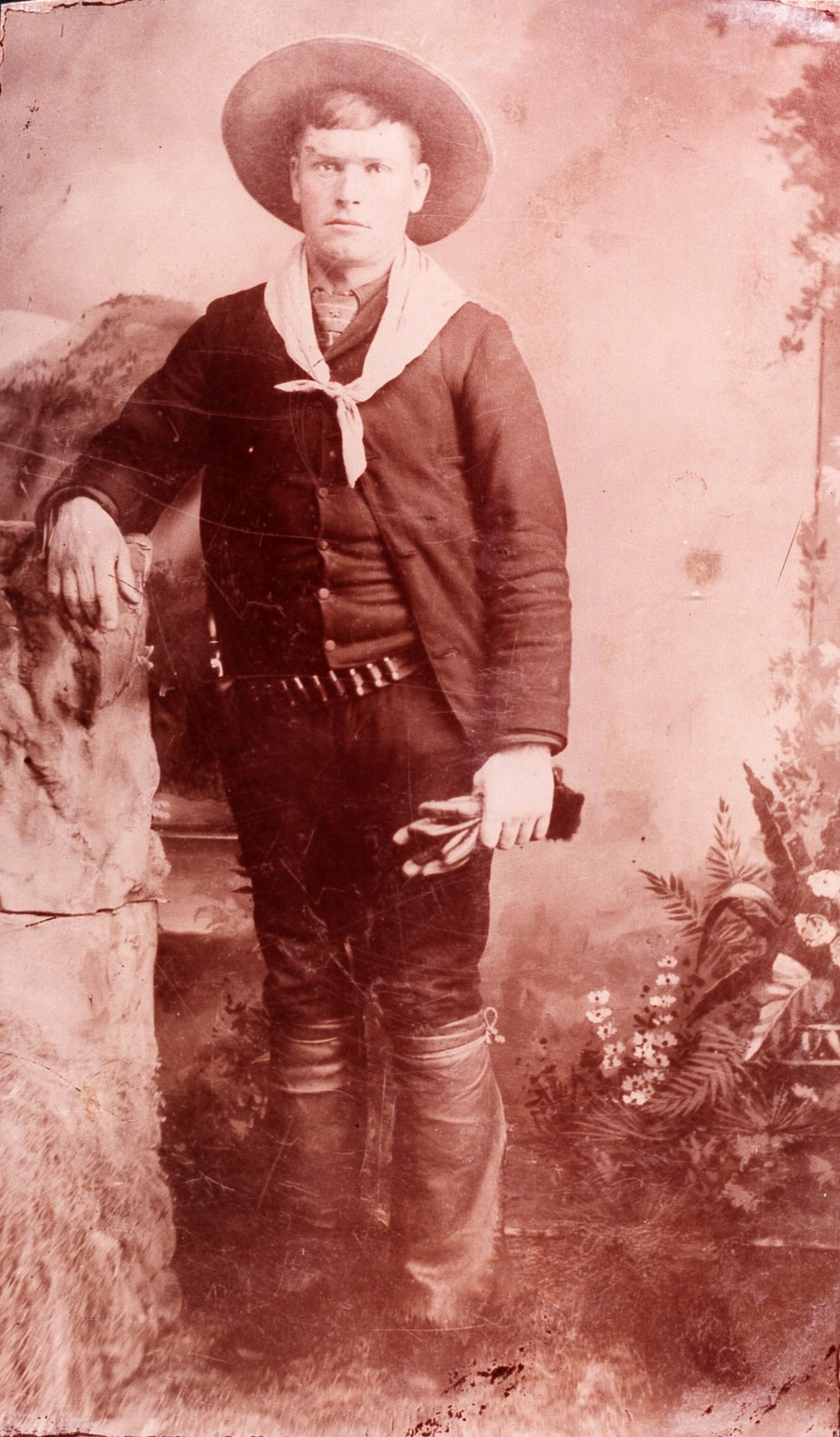 (Courtesy | Uintah County Library Regional History Center) Butch Cassidy as a young man, circa 1880s.