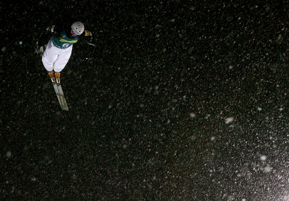 (Chris Detrick | The Salt Lake Tribune) Park City,UT--1/11/07--9:23:35 PM--Jeret