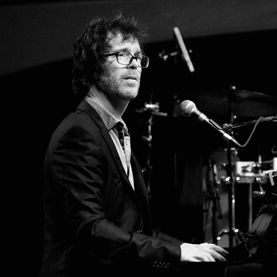 (Anthony Scarlati | courtesy of Utah Symphony) Singer-songwriter Ben Folds performs with the Utah Symphony on July 11, 2020, at Deer Valley's Snow Park Amphitheatre in Park City, as part of the Deer Valley Music Festival.