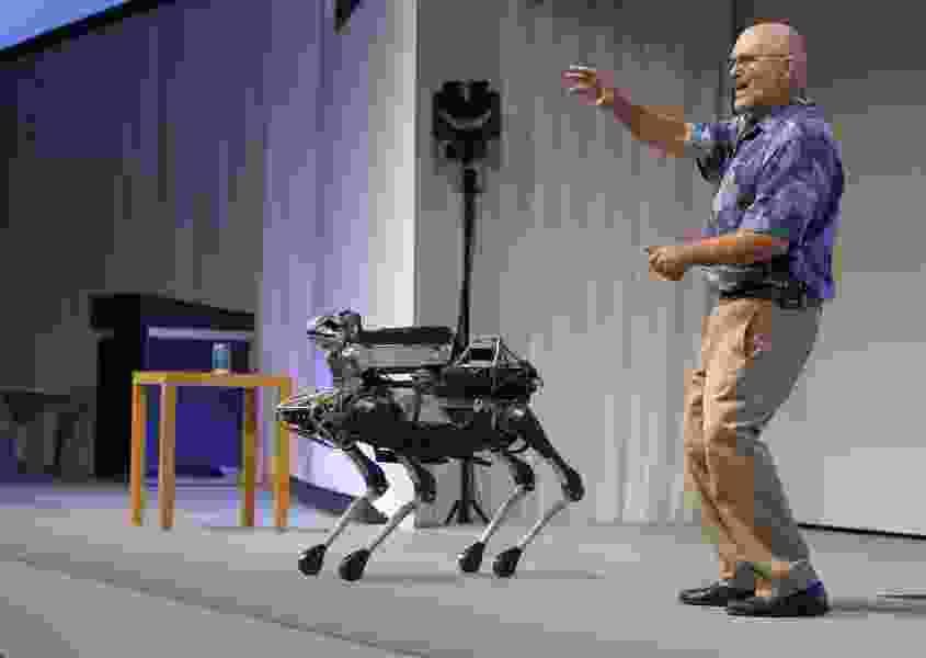 Boston Dynamics' Headless Robot Dog Can Open Doors