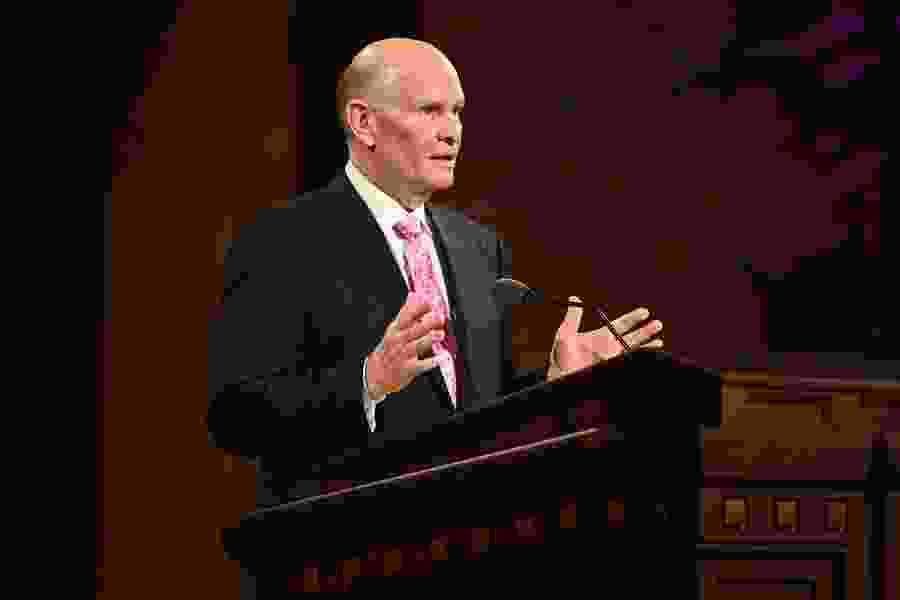 Latest from LDS General Conference: Apostle Renlund warns against self-righteousness; Holland frustrated with the pandemic
