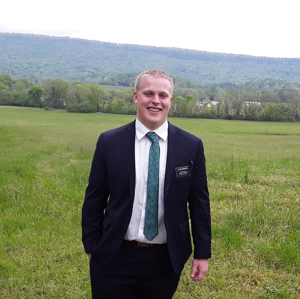 (Courtesy of Bergeson family) McKay Bergeson, a 19-year-old Bountiful native who was serving a mission for The Church of Jesus Christ of Latter-day Saints, was killed while riding his bicycle when he was struck by an automobile near LaFayette, Ga.