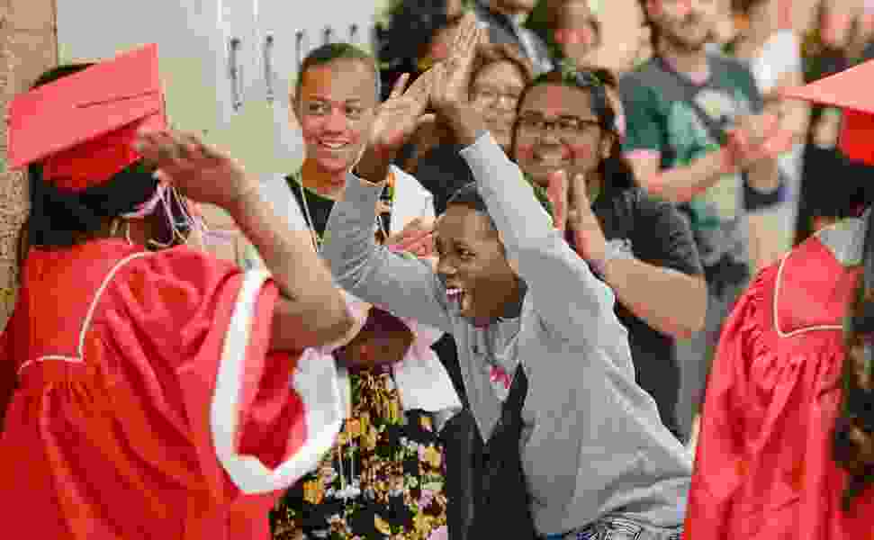 These high school graduates earned $1.5M in college scholarships. They visited Salt Lake City schools to inspire younger students.