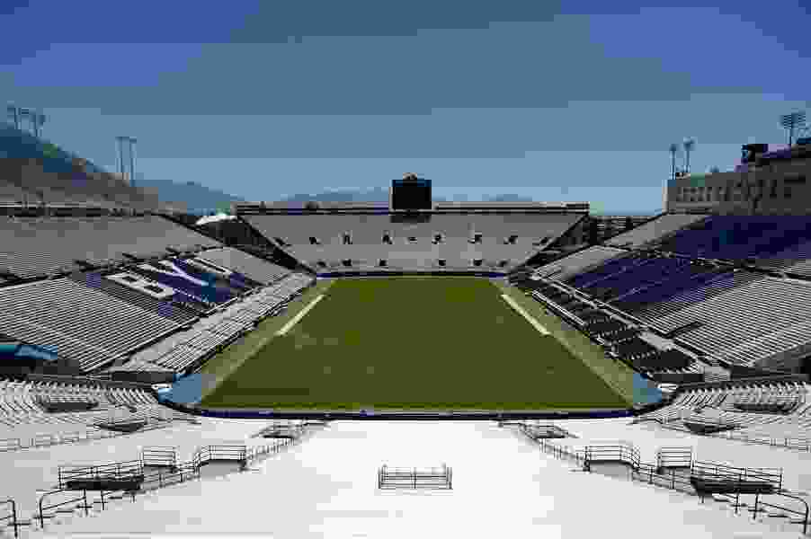With Provo moving back to Orange level, BYU home football opener will be played in an empty LaVell Edwards Stadium