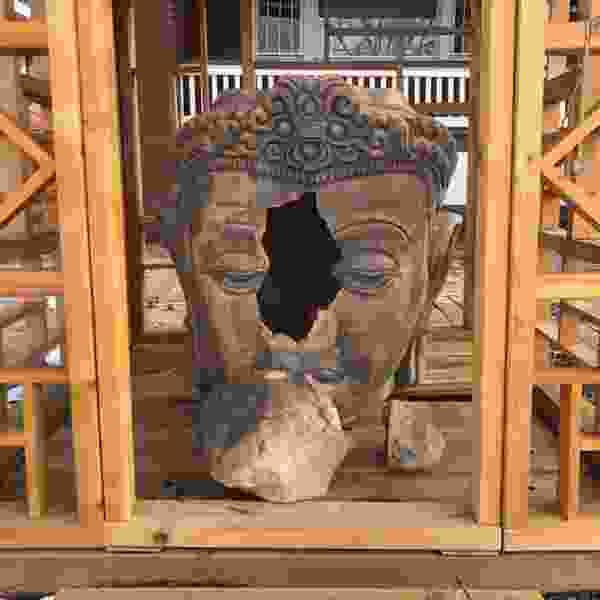 Vandalized Salt Lake City Buddhist shrine will be repaired, thanks to donations