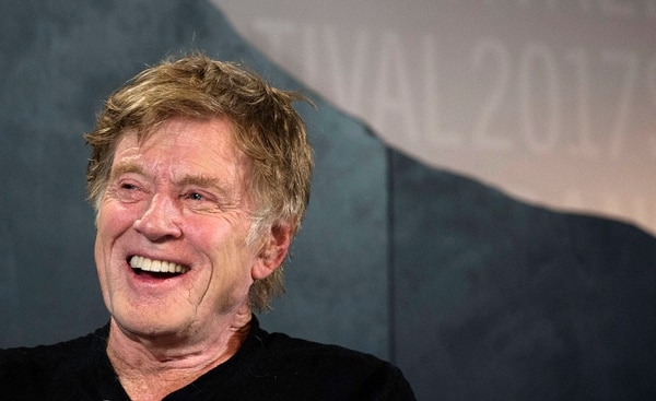 Steve Griffin / The Salt Lake Tribune Robert Redford kicks off the 2017 Sundance Film Festival during opening press conference at the Egyptian Theater in Park City, Utah Thursday January 19, 2017.