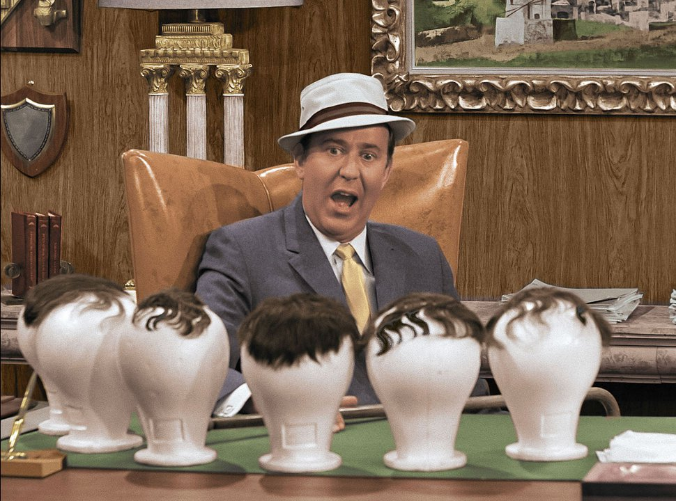 (Photo courtesy of Calvada Productions) Carl Reiner in a 1965 episode of