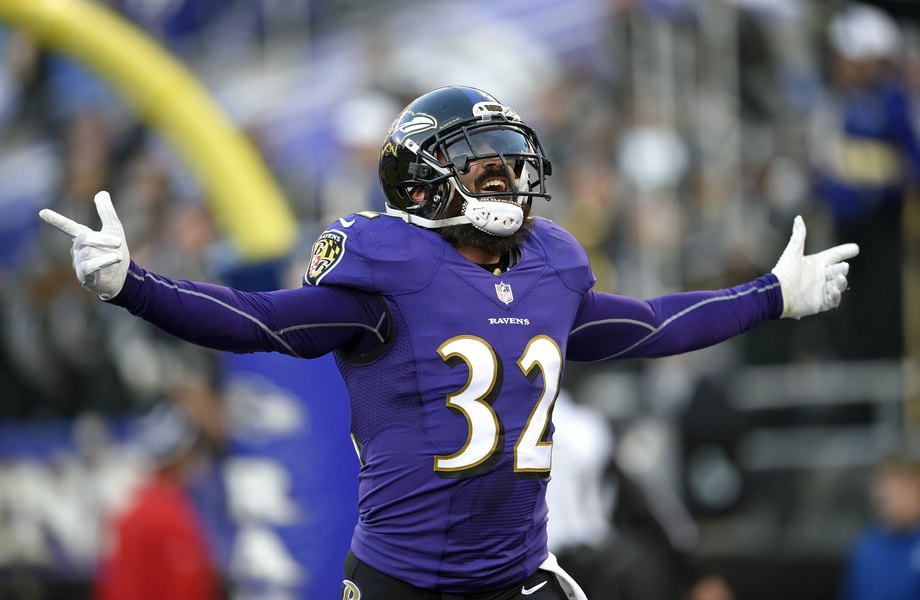 online store 7094e 50793 Former Utah safety Eric Weddle gets 1,000th career tackle, grabs an  interception in Ravens  win over Browns as local star of NFL Week 15