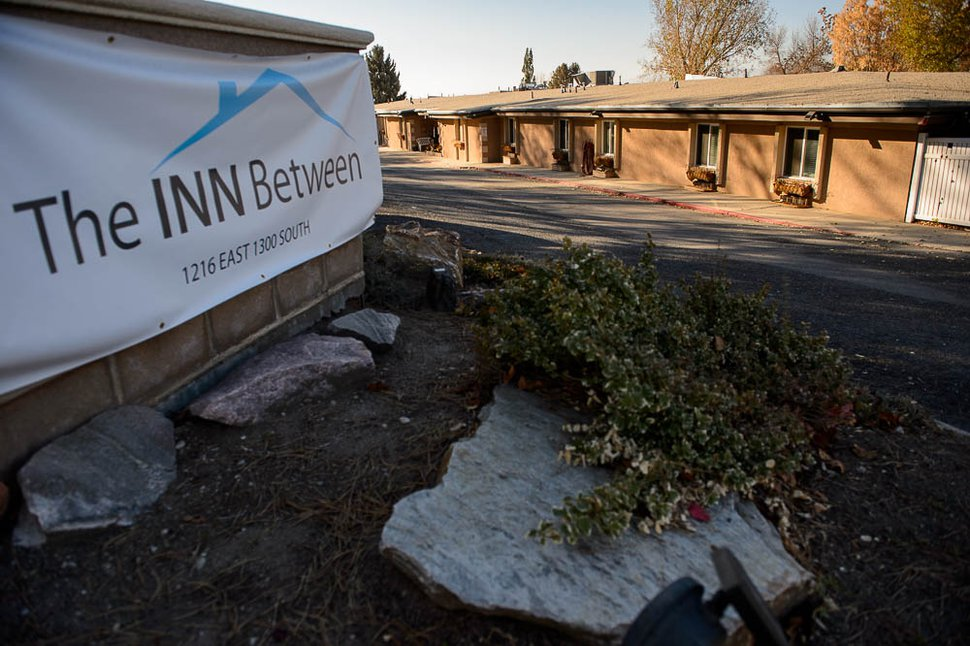 (Trent Nelson | The Salt Lake Tribune) When The INN Between, a Salt Lake City homeless hospice for those with terminal illnesses, moved into this small neighborhood on Salt Lake City's east side in May, residents worried it would operate as a de facto homeless shelter and bring increased crime. Six months later, they say their worst fears have come true. Friday Nov. 16, 2018.