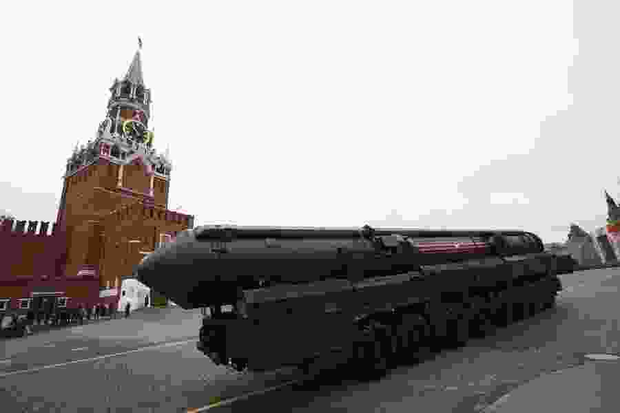 Russian Orthodox Church considers a ban on blessing weapons of mass destruction