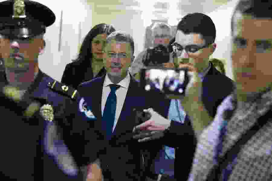 Diplomats pushed Ukraine to investigate Bidens, dangled Trump visit