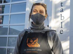 (Rick Egan | The Salt Lake Tribune) Emery Lortsher, co-owner of The Blended Table, on Wednesday, Dec. 2, 2020.