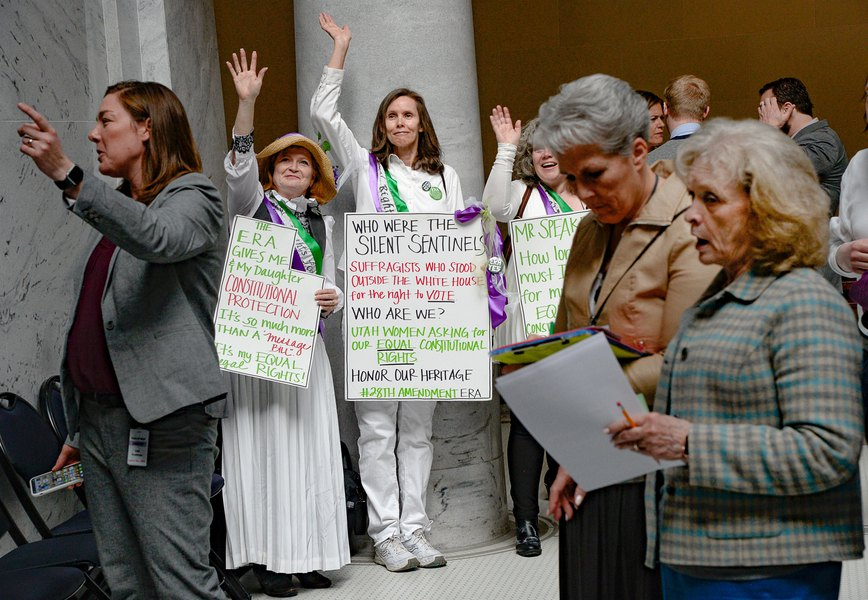 Sheryl Allen: Time for Utah to get the Equal Rights Amendment right