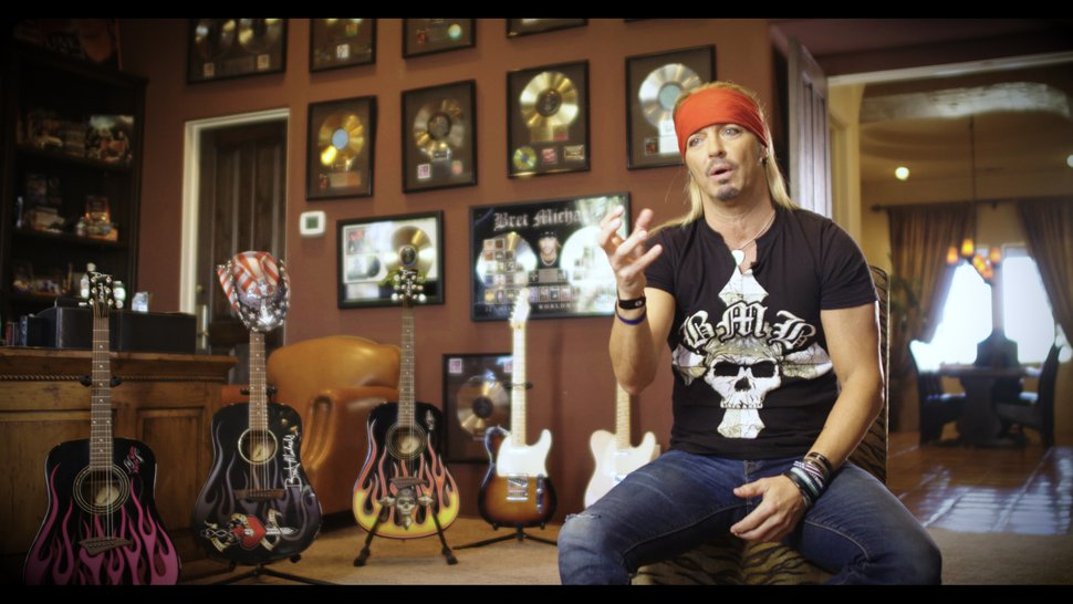 (Photo courtesy of A&E) Poison frontman Bret Michaels talks about the early days of MTV in