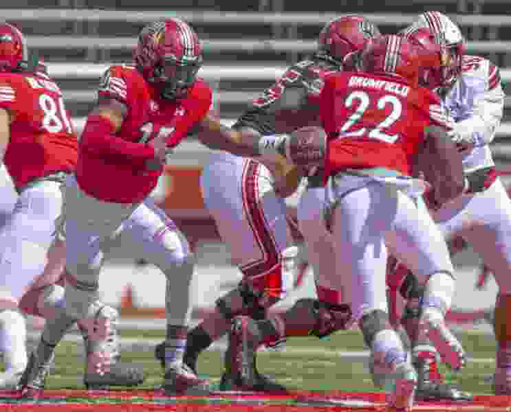 The Utes believe they are loaded at running back and plan to share the ball, even with Zack Moss getting 23 carries each game