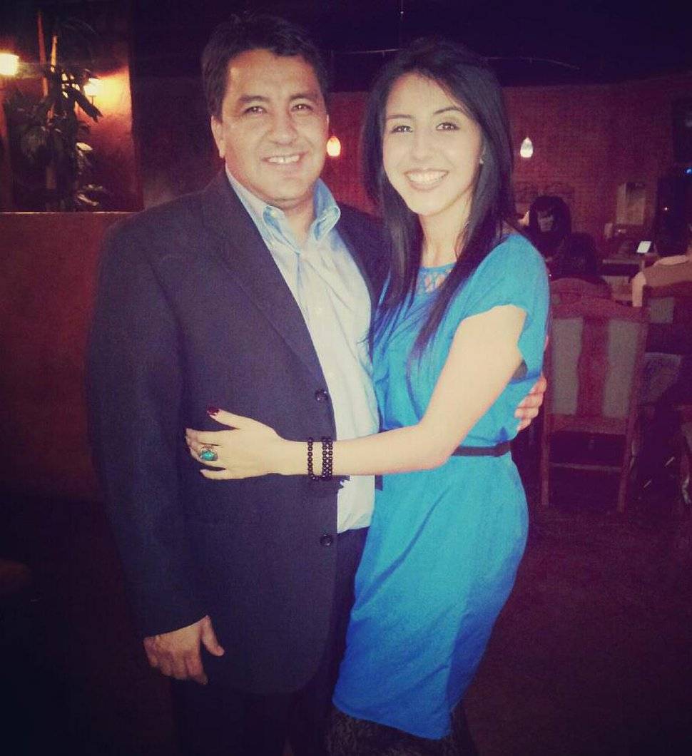 (Photo courtesy of Utah Department of Transportation) Martin and Maria Herrera before she was killed in a car crash caused by speeding.