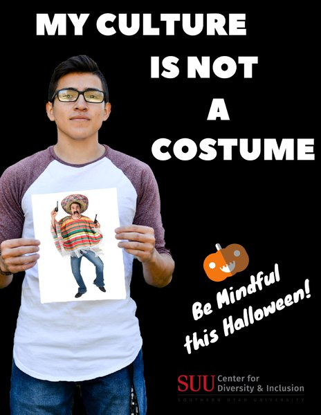 Southern Utah University campaign calls out offensive Halloween ...