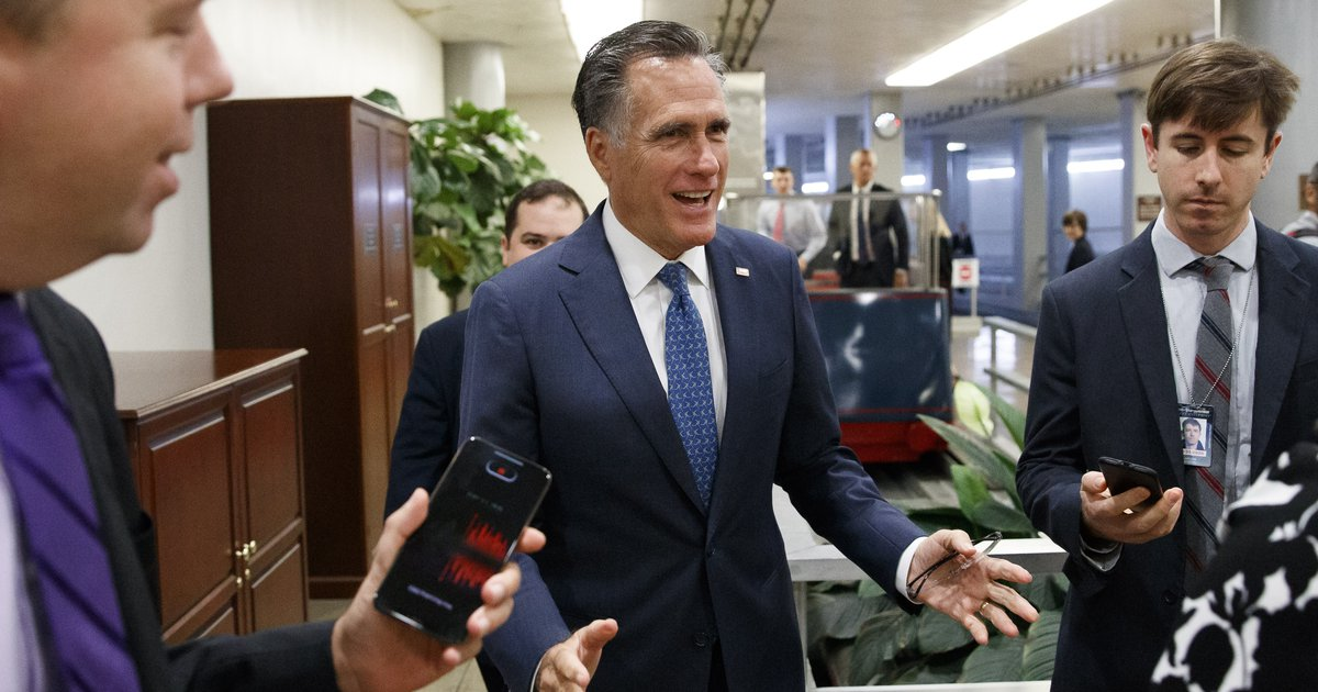 Letter: Romney is a disgrace to the Republican Party