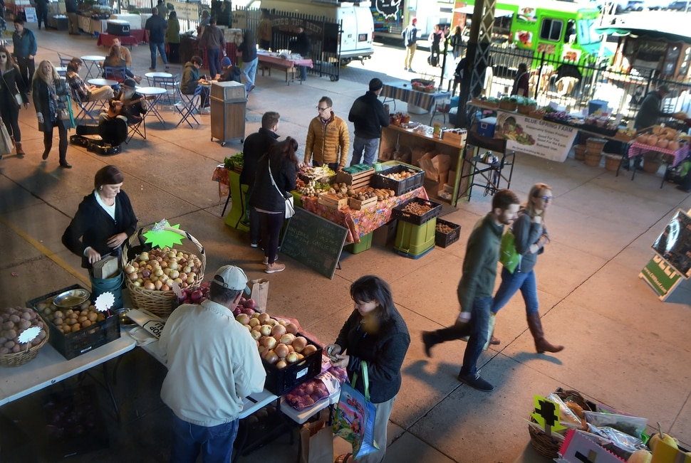 (Scott Sommerdorf | The Salt Lake Tribune) The Rio Grande Winter Market, Saturday, November 11, 2017. The market is a project of Urban Food Connections of Utah and will be held every Saturday, through April 21st, from 10 AM - 2 PM.