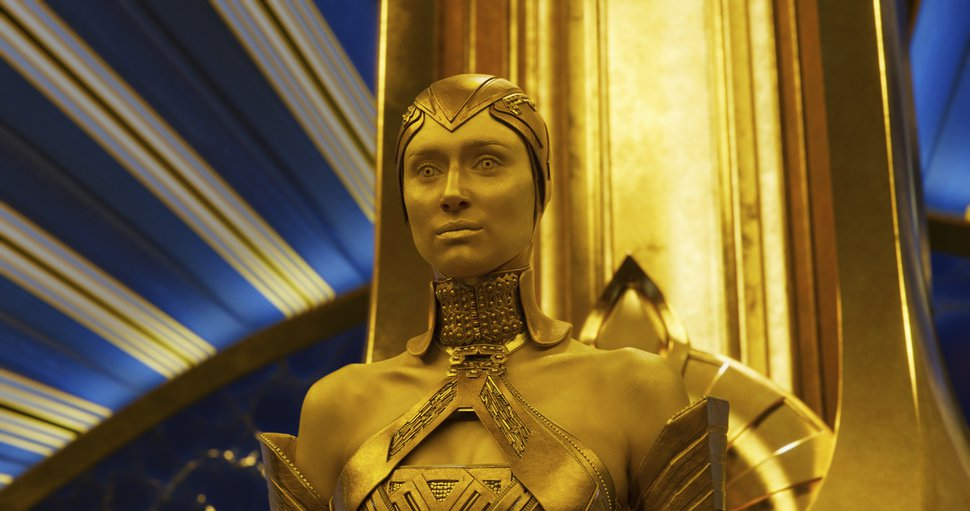 This image released by Disney-Marvel shows Elizabeth Debicki in a scene from,