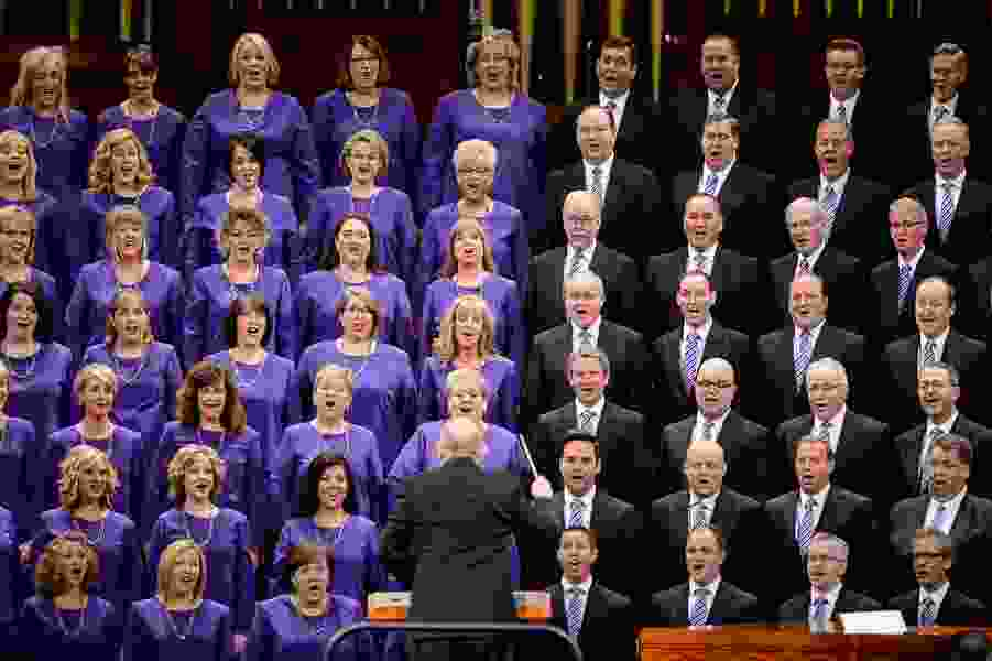 First album from the renamed Tabernacle Choir hits No. 1