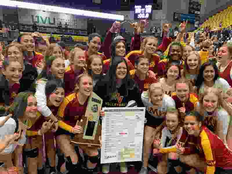 Mountain View beats Farmington 3-1 to claim 5A state volleyball championship