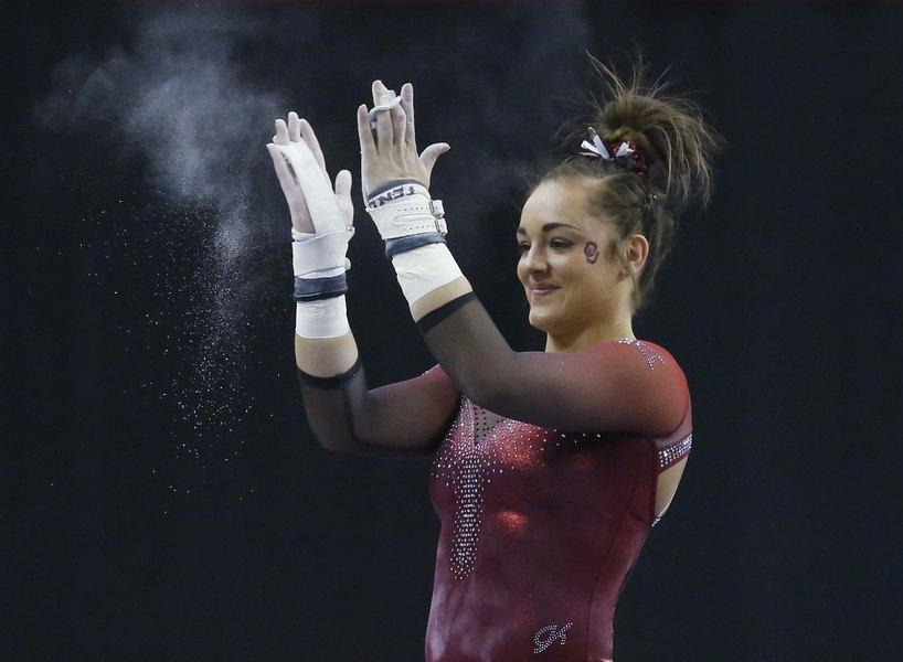 Oklahoma brings home the title at the NCAA Gymnastics Championships