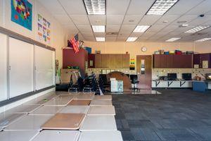 (Trent Nelson  |  The Salt Lake Tribune) An empty classroom at Backman Elementary School in Salt Lake City on Wednesday, July 29, 2020.