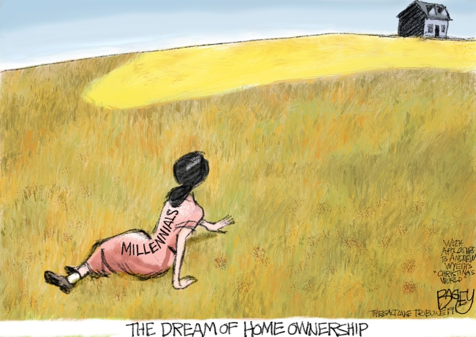 This Pat Bagley cartoon appears in The Salt Lake Tribune on Thursday, March 29, 2019.