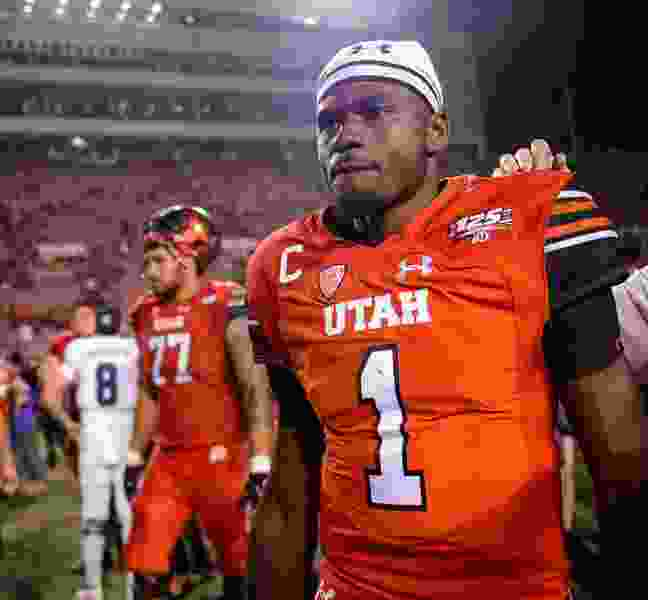 Monson: Utah's Tyler Huntley finally has learned how to be a quarterback