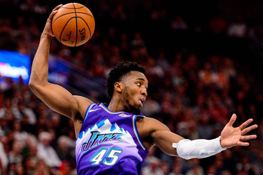 Jazz guard Donovan Mitchell's rise to NBA All-Star has been sudden, but it's finally sinking in