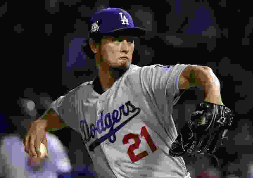 Darvish, Taylor put Dodgers on verge of World Series berth