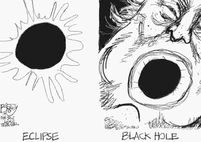 Bagley Cartoon: Know Your Cosmology