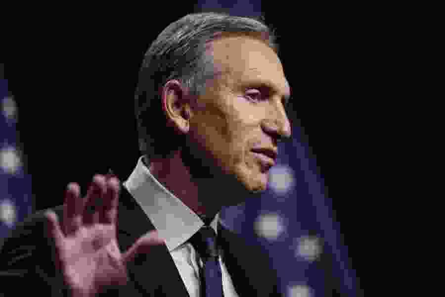 Independent presidential candidate Howard Schultz postpones Utah visit
