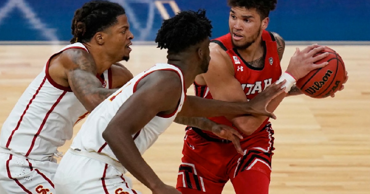 Utah Runnin' Utes fall to USC in double overtime in Pac-12 Tournament quarterfinal