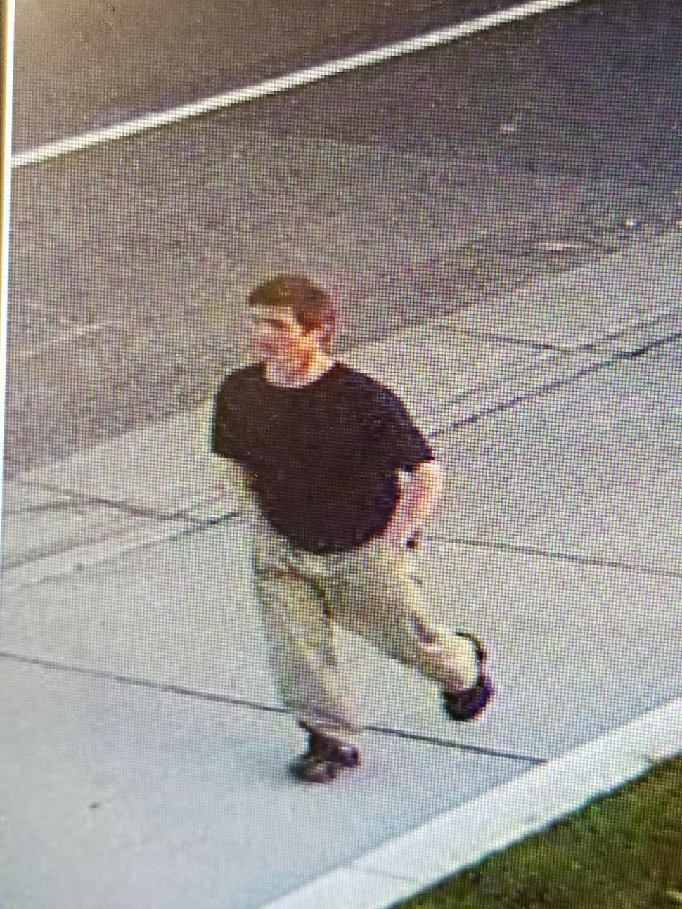 (Courtesy Murray police) Police have released surveillance photos of a man wanted in connection with a shooting in Murray Wednesday evening.