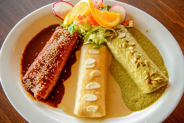 (Trent Nelson | The Salt Lake Tribune) Holy mole. Maria's Mexican Grill in Salt Lake City, Tuesday, Aug. 14, 2018.