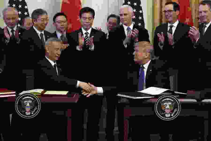 Emphasis on U.S. exports, trade secrets in China trade deal
