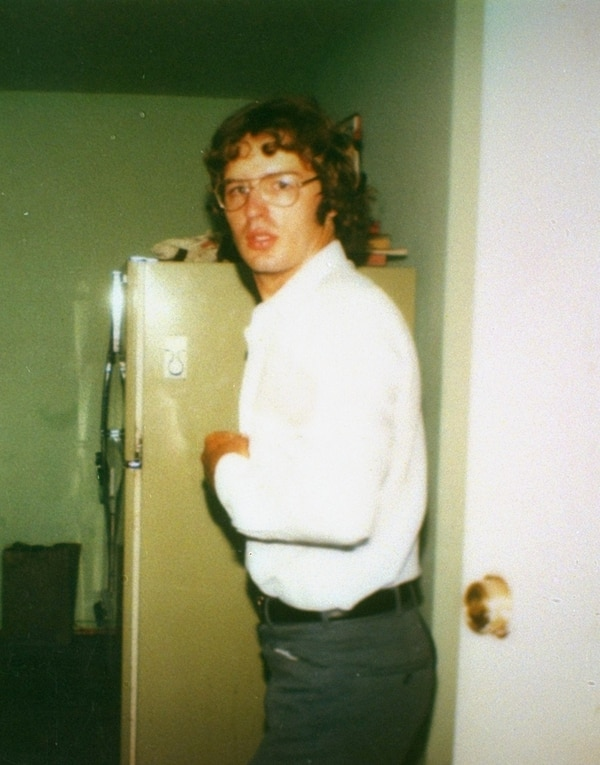 This is a 1981 photo of David Koresh taken at the Mount Carmel compound of the Branch Davidians cult near Waco, Texas. Koresh, the leader of the cult who claims to be Christ, and his followers, were involved in a standoff with police at the compound in 1993. (AP Photo)