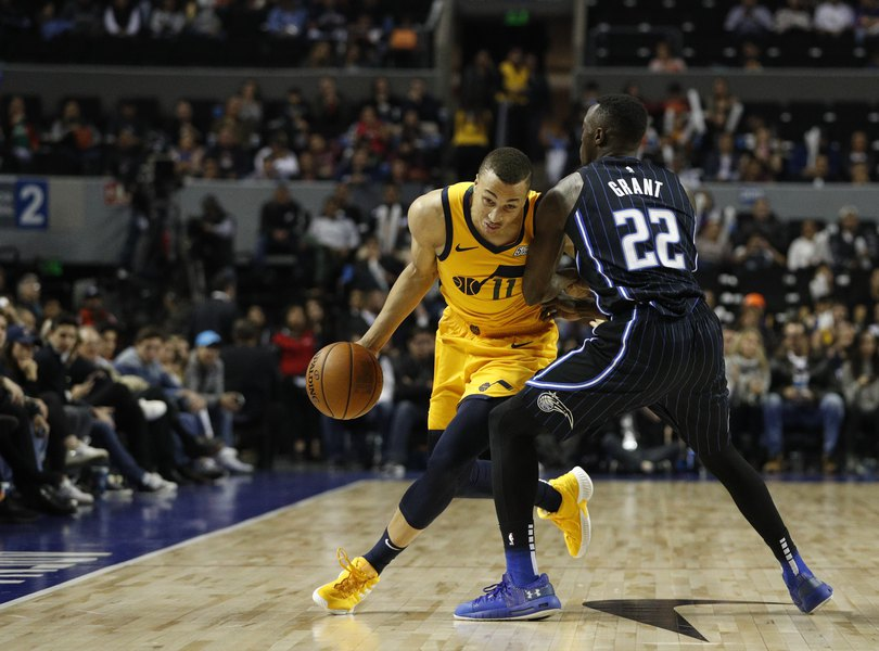 Jazz-Magic game in Mexico City 'like a theme park' with excited fans and plenty of activities