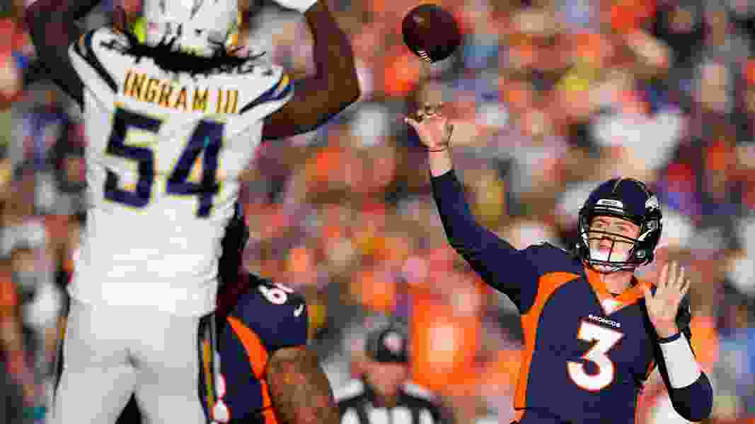 NFL roundup: Broncos edge Chargers 23-20 on last-second FG in rookie QB Drew Lock's debut