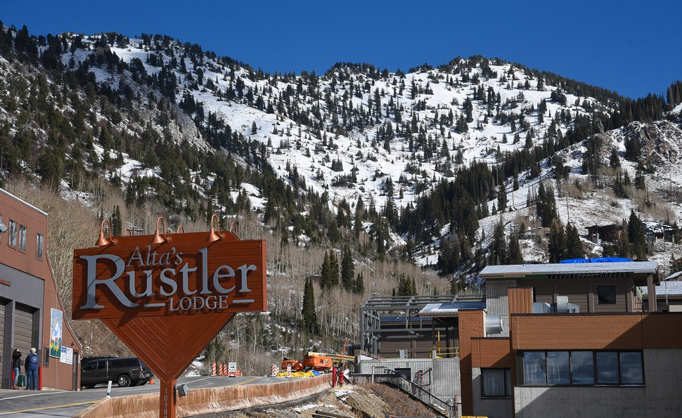 (Francisco Kjolseth | Tribune file photo) Managers at Alta's Rustler Lodge bought bus fares and plane tickets for seasonal workers to help them get out of town after Alta Ski Resort closed abruptly late Saturday, March 17, 2020, as a precaution against the spread of COVID-19.