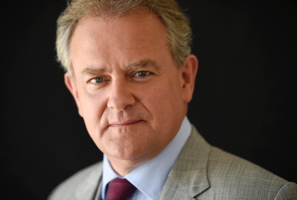 Hugh Bonneville, a cast member in the PBS television series