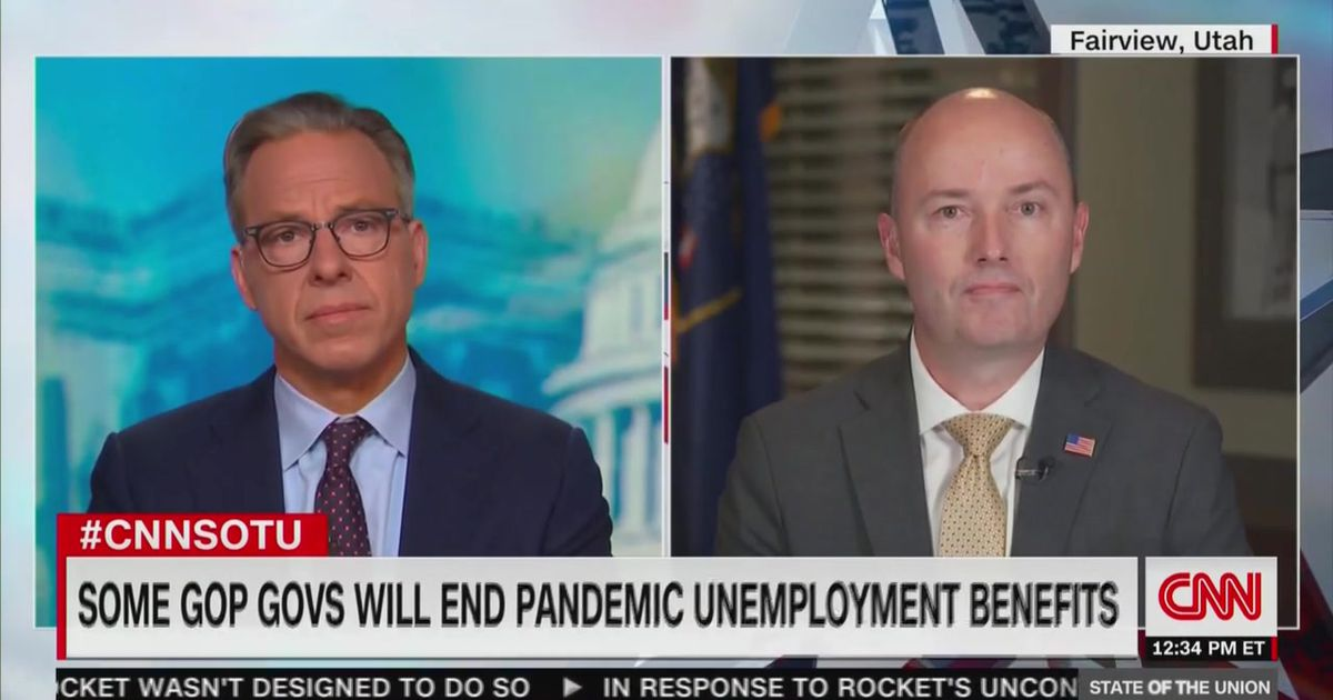 Gov. Cox defends push to end enhanced unemployment benefits
