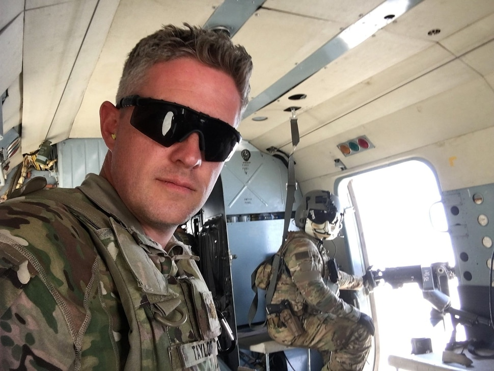 (courtesy of the North Ogden Discussion Facebook page) North Ogden Mayor Brent Taylor posted this photo in June 2018. Taylor, a major in the Utah National Guard, died in an insider attack in Afghanistan in November 2018.