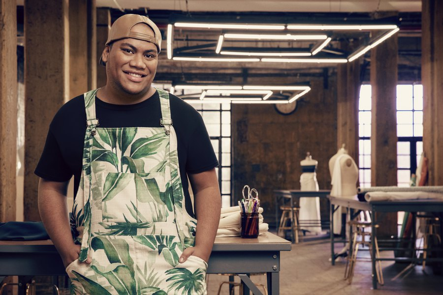Burned brownies lit a fire under Latter-day Saint fashion designer. Now the Utahn (from Samoa) is on 'Project Runway.'