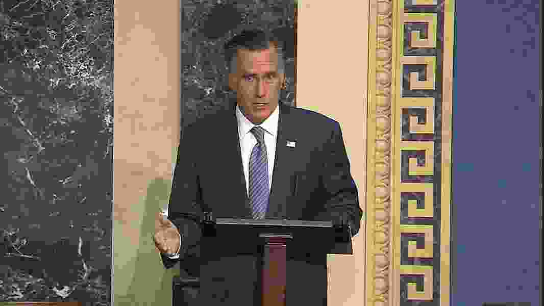 Jim Galloway: Mitt Romney is having an important moment. His faith might be, too