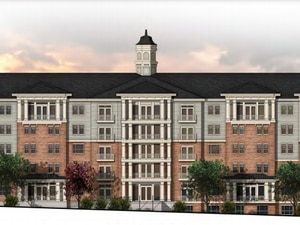 (Image courtesy of the Clark and Christine Ivory Foundation, via Salt Lake City) A rending of Ivory University House, a 536-bed student housing complex proposed at 1780 E. South Campus Drive at the University of Utah in Salt Lake City.