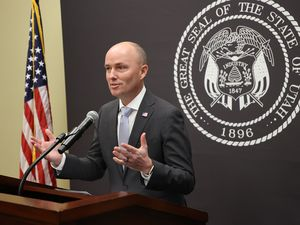 (Jeffrey D. Allred | Deseret News, pool) Gov. Spencer Cox speaks at the Utah State Capitol during the weekly COVID-19 press conference in Salt Lake City, Friday, Jan. 8, 2021.